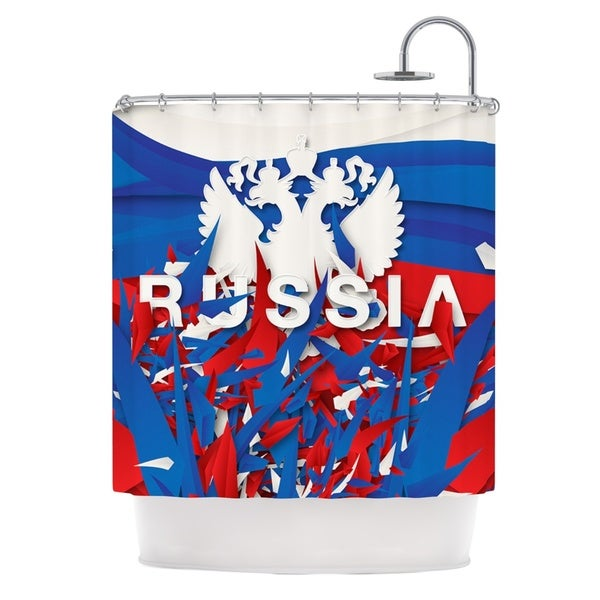 KESS InHouse Danny Ivan Russia World Cup Shower Curtain (69x70)