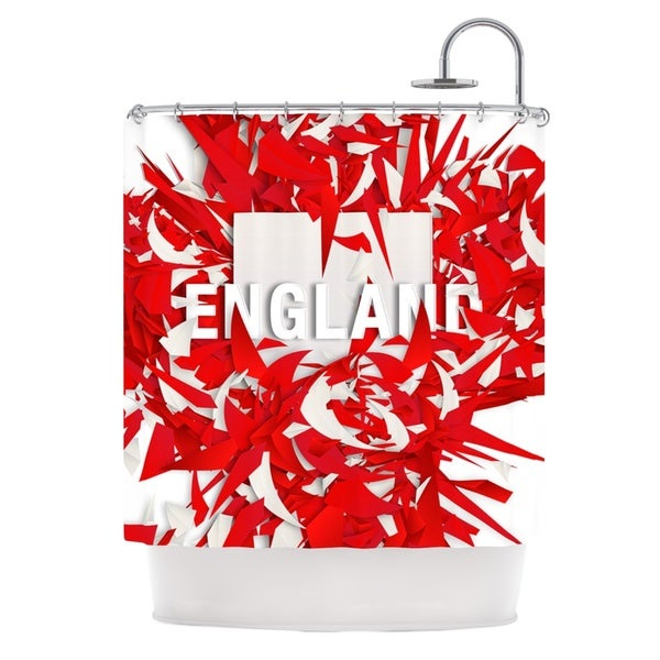 KESS InHouse Danny Ivan England World Cup Shower Curtain (69x70)