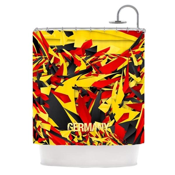 KESS InHouse Danny Ivan Germany World Cup Shower Curtain (69x70)