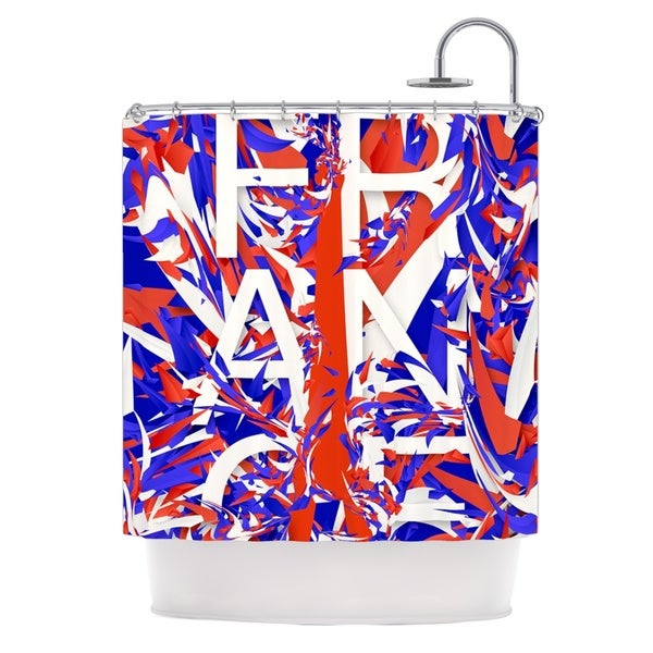 KESS InHouse Danny Ivan France World Cup Shower Curtain (69x70)
