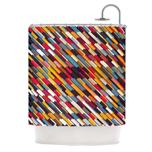 KESS InHouse Danny Ivan Texturize Shower Curtain (69x70)
