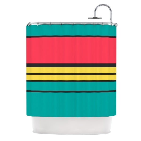 KESS InHouse Danny Ivan Simple Shower Curtain (69x70)