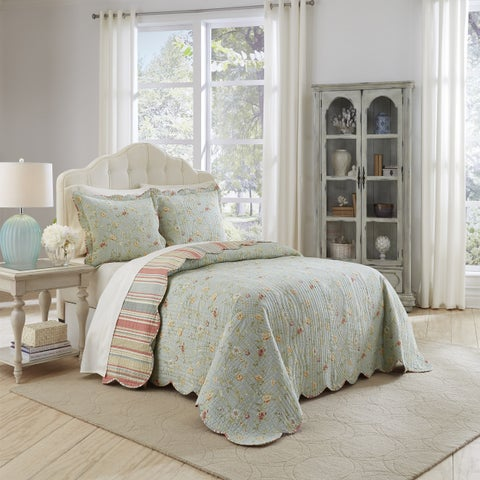 Waverly Garden Glitz 3 Piece Bedspread Collection