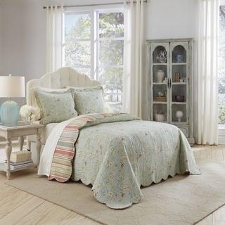 Waverly Garden Glitz 3 Piece Bedspread Collection