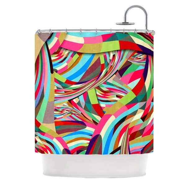 KESS InHouse Danny Ivan Fun Shower Curtain (69x70)