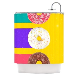 KESS InHouse Danny Ivan Donuts Shower Curtain (69x70)
