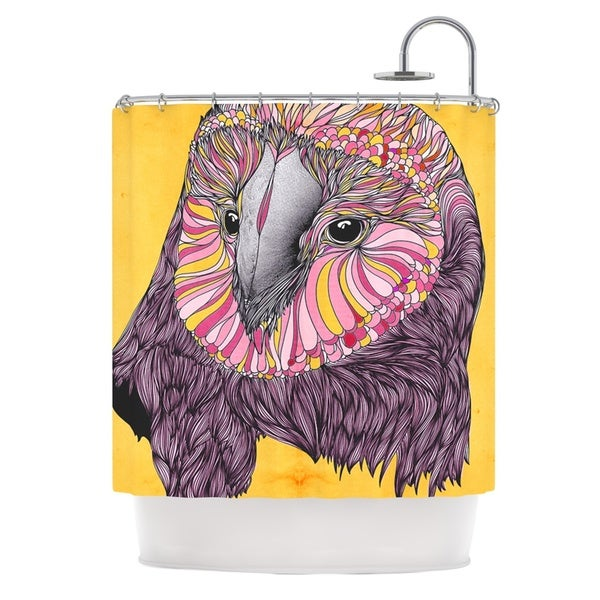 KESS InHouse Danny Ivan Lovely Owl Shower Curtain (69x70)