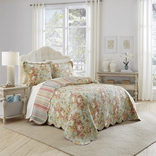 Beautiful Waverly Spring Bling 3 Piece Bedspread Collection