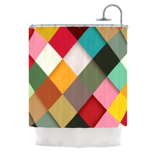 KESS InHouse Danny Ivan Colorful Shower Curtain (69x70)