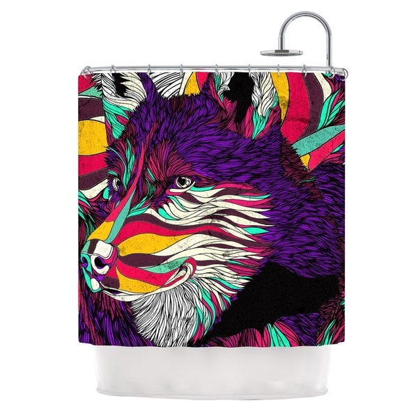 KESS InHouse Danny Ivan Color Husky Shower Curtain (69x70)