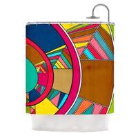 KESS InHouse Danny Ivan Lov Pattern Shower Curtain (69x70)