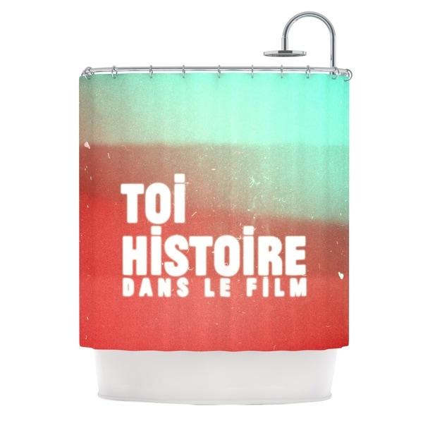 KESS InHouse Danny Ivan Toi Histoire Shower Curtain (69x70)