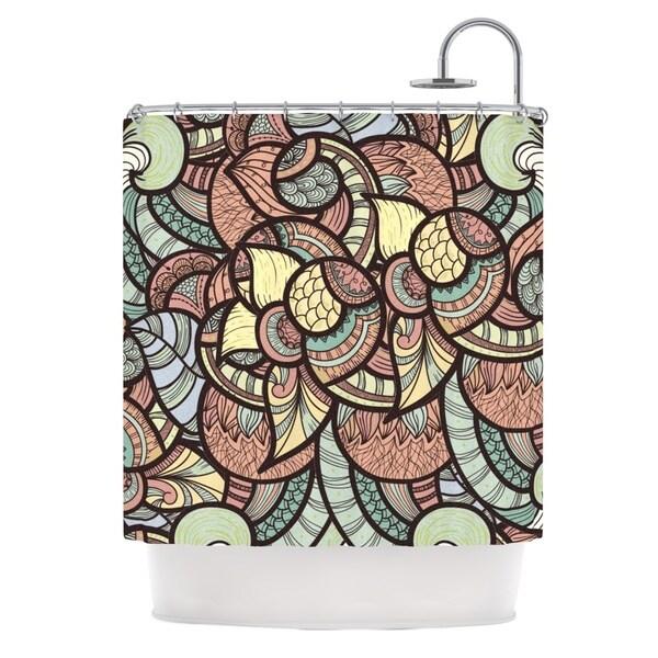 KESS InHouse Danny Ivan Wild Run Shower Curtain (69x70)