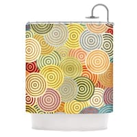 KESS InHouse Danny Ivan Matias Girl Shower Curtain (69x70)
