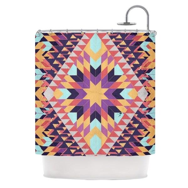 KESS InHouse Danny Ivan Ticky Ticky Shower Curtain (69x70)