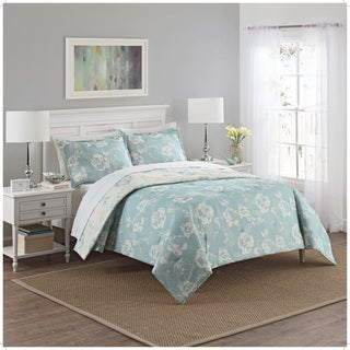 Marble Hill Bonita Reversible 100% cotton 3-Piece Comforter Set