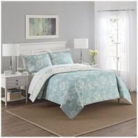 Marble Hill Bonita Reversible 100% cotton 3-Piece Comforter Set