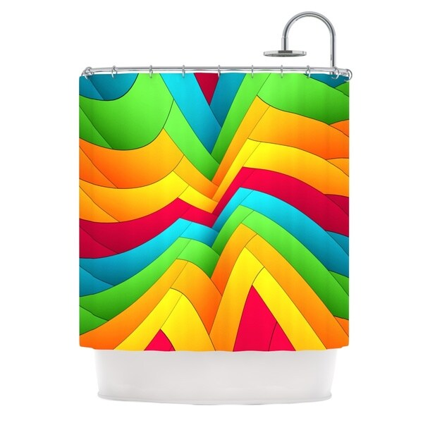 KESS InHouse Danny Ivan Olympia Shower Curtain (69x70)