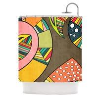 KESS InHouse Danny Ivan Cosmic Aztec Shower Curtain (69x70)