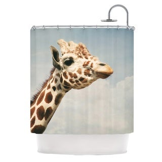KESS InHouse Angie Turner Giraffe Animal Shower Curtain (69x70)