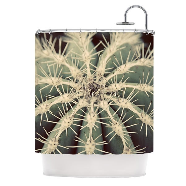 KESS InHouse Angie Turner Cactus Plant Shower Curtain (69x70)