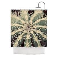 KESS InHouse Angie Turner Cactus Plant Shower Curtain (69x70)