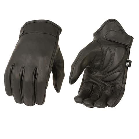 Men's Premier Leather Short-wristed Cruiser Gloves
