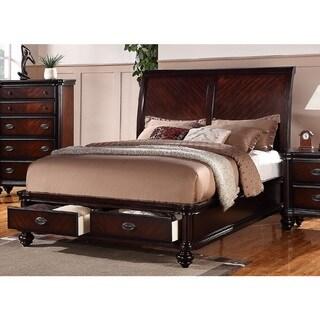 Jurupe Storage Panel Bed