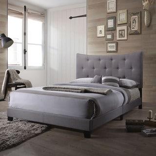 Acme Furniture Venecha Grey Platform Queen Bed