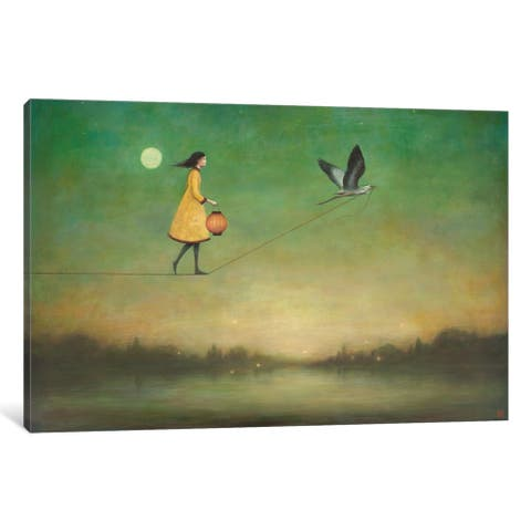 iCanvas 'Blue Moon Expedition' by Duy Huynh Canvas Print