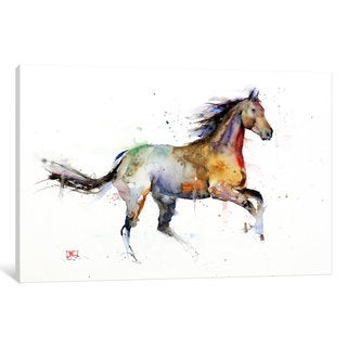 iCanvas 'Horse II' by Dean Crouser Canvas Print