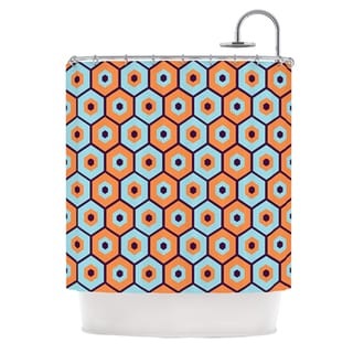 KESS InHouse Budi Kwan Busy Shower Curtain (69x70)