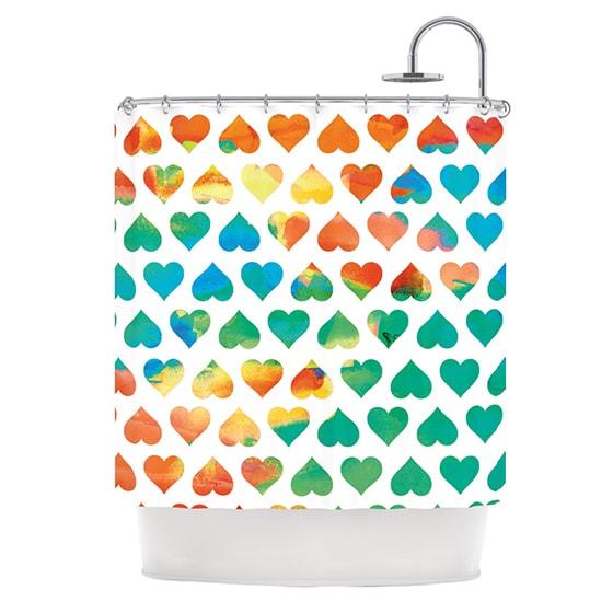 KESS InHouse Budi Kwan Be Mine Shower Curtain (69x70)