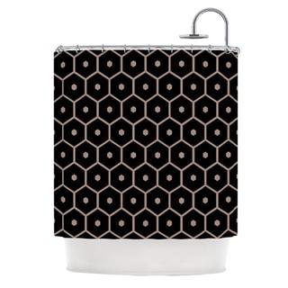 KESS InHouse Budi Kwan Tiled Mono Shower Curtain (69x70)