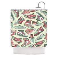 KESS InHouse Brienne Jepkema Sneaker Lover II Shower Curtain (69x70)