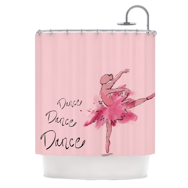 KESS InHouse Brienne Jepkema Ballerina Shower Curtain (69x70)