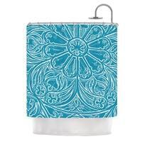 KESS InHouse Belinda Gillies Pitter Pattern Shower Curtain (69x70)