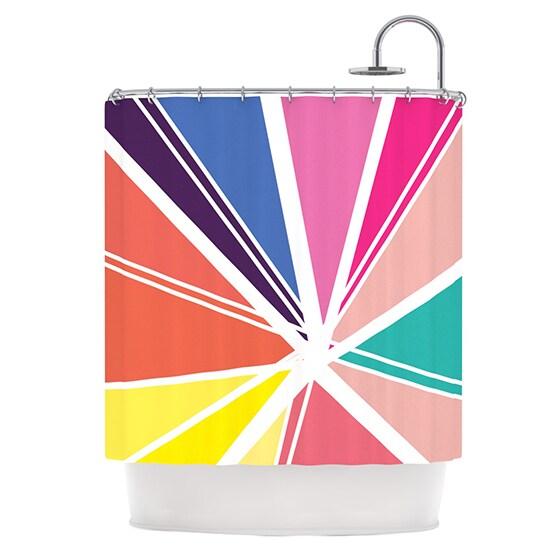 KESS InHouse Belinda Gillies Boldly Bright Shower Curtain (69x70)