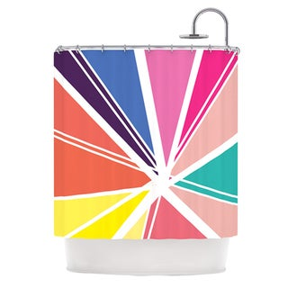KESS InHouse Belinda Gillies Boldly Bright Shower Curtain (69x70)