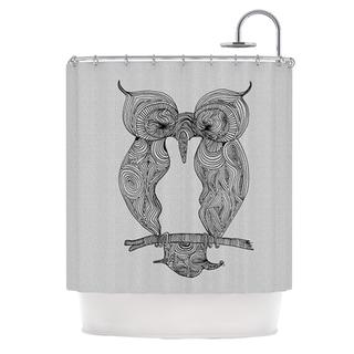 KESS InHouse Belinda Gillies Owl Shower Curtain (69x70)