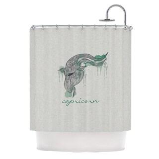 KESS InHouse Belinda Gillies Capricorn Shower Curtain (69x70)