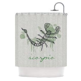 KESS InHouse Belinda Gillies Scorpio Shower Curtain (69x70)
