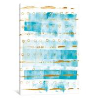 iCanvas 'Ocean Blue I' by Wild Apple Portfolio Canvas Print