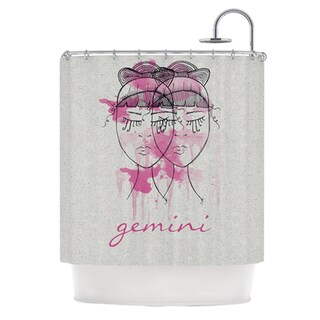 KESS InHouse Belinda Gillies Gemini Shower Curtain (69x70)