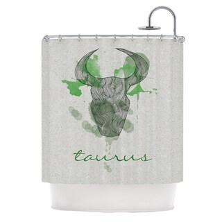 KESS InHouse Belinda Gillies Taurus Shower Curtain (69x70)