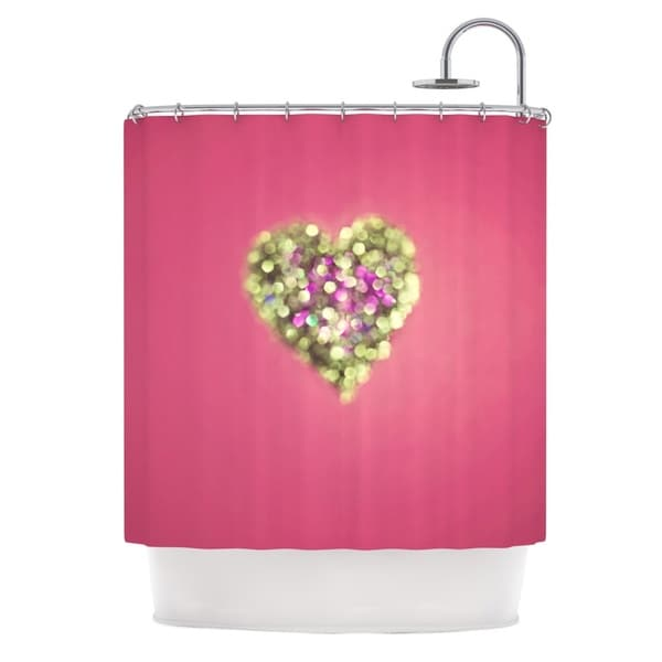 KESS InHouse Beth Engel Make Your Love Sparkle Shower Curtain (69x70)