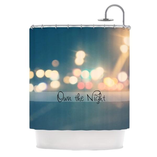 KESS InHouse Beth Engel Own The Night Shower Curtain (69x70)
