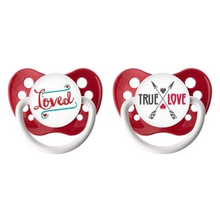 Ulubulu Love Classic Expression Pacifier 0-6 Months (2 Pack)