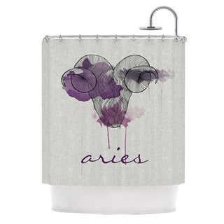 KESS InHouse Belinda Gillies Aries Shower Curtain (69x70)