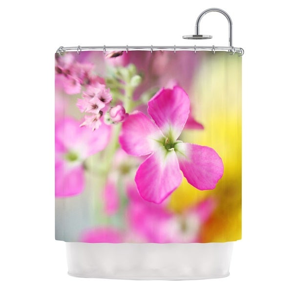 KESS InHouse Beth Engel Lucky One Floral Photography Shower Curtain (69x70)